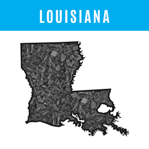 Louisiana Rubber Mulch