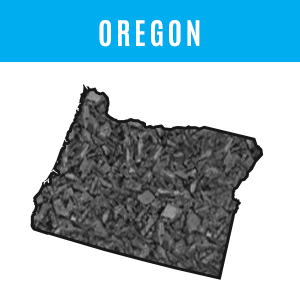 Oregon Rubber Mulch