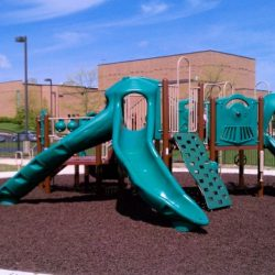 Rubber Mulch for Church Playground
