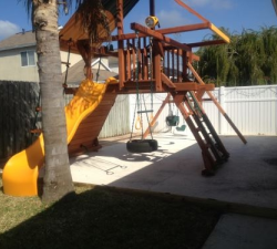 Playground Before Rubber Mulch