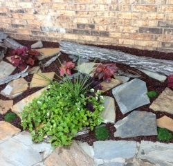 Rubber Mulch Landscaping Material