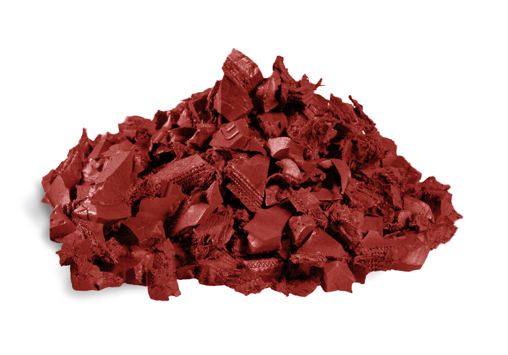 Redwood Rubber Mulch Recycled Rubber Mulch