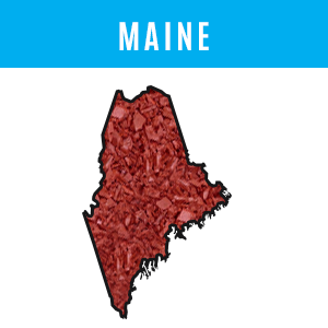 Maine Rubber Mulch