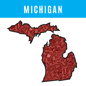 Michigan Rubber Mulch