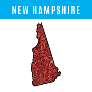 New Hampshire Rubber Mulch