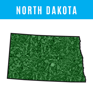 North Dakota Rubber Mulch