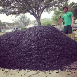 Bulk Rubber Mulch Delivery