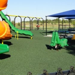 Playground Rubber Mulch for Poolside Park