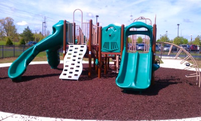 Rubber Playground Mulch image