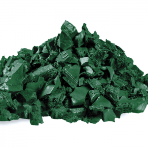Green Rubber Mulch